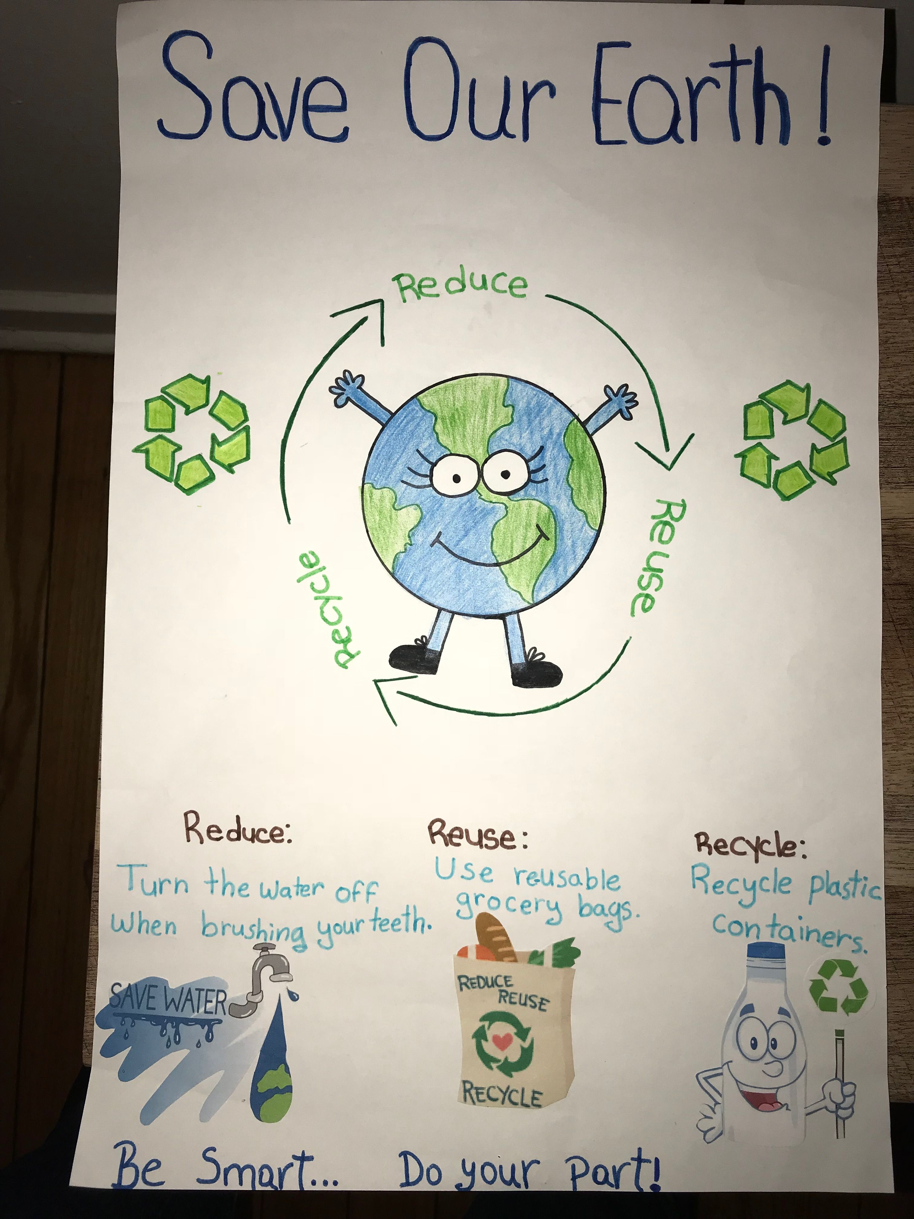 Reduce Reuse Recycle Project Idea