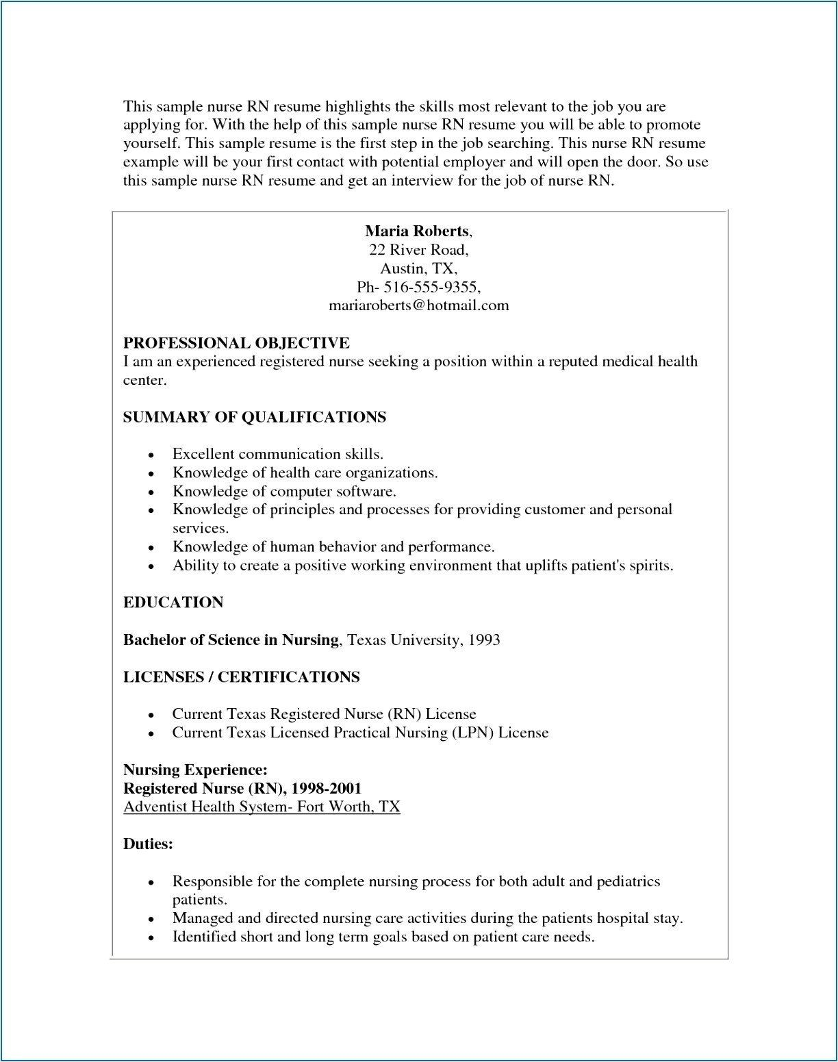 registered nurse resume objectives luxury registered nurse