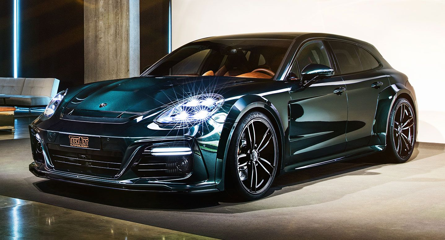 TechArt Decks Out Porsche Panamera Sport Turismo With