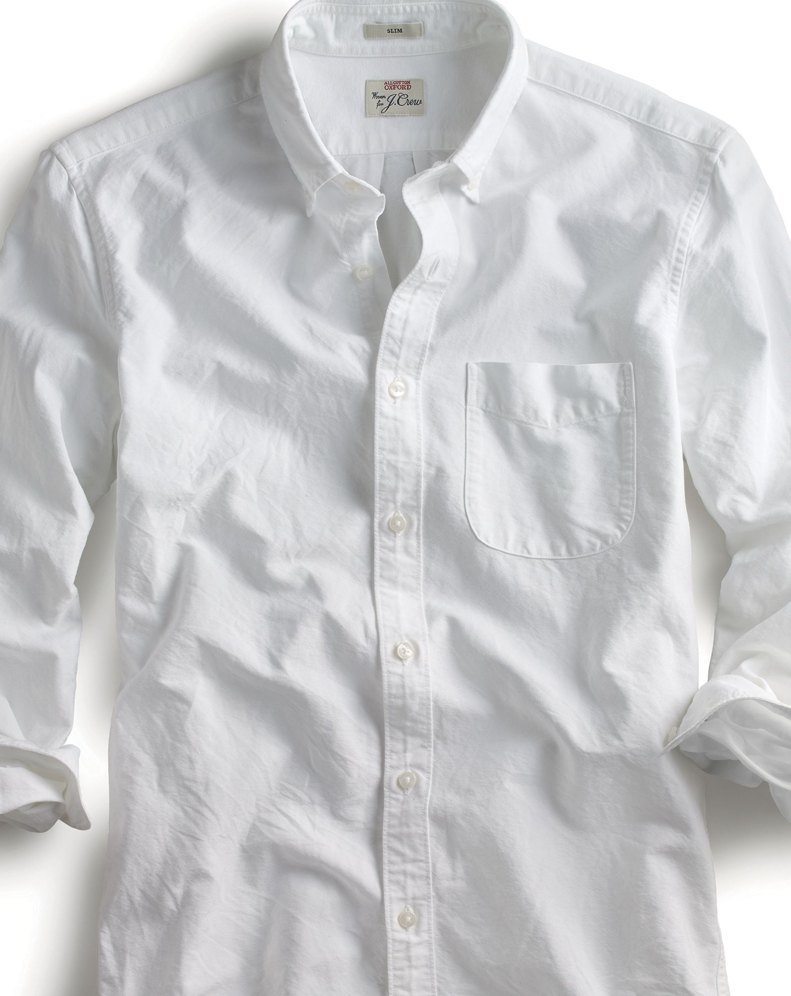 Men's Slim American Pima Cotton Oxford Shirt - Men's Shirts