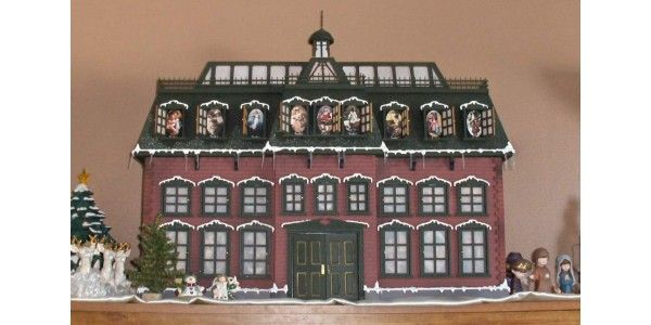 here are some plans to build your own christmas vacation advent house if you are feeling the diy christmas spirit good luck