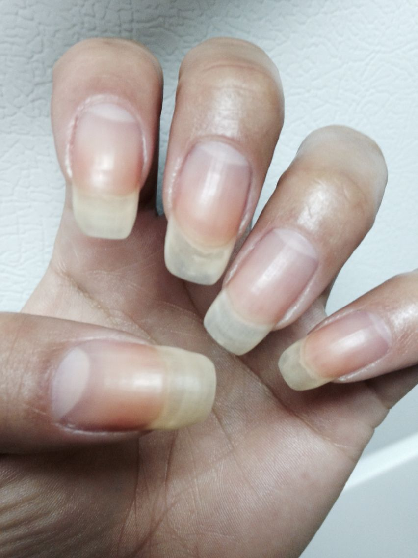 Long Natural nails can be achieved by taking a multi-vitamin ...