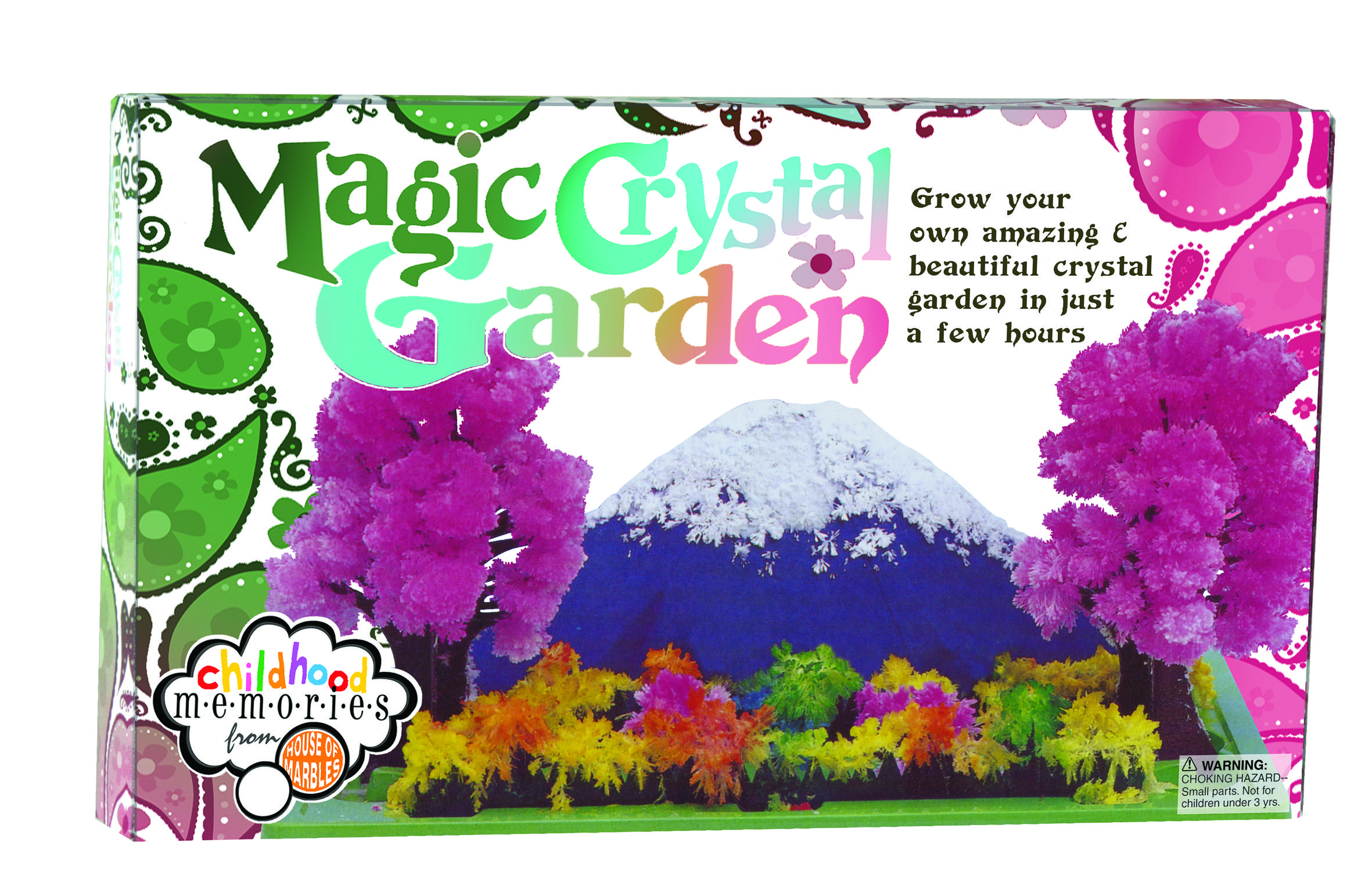 Magic Crystal Garden Kit. A Great Gift Idea For Christmas
