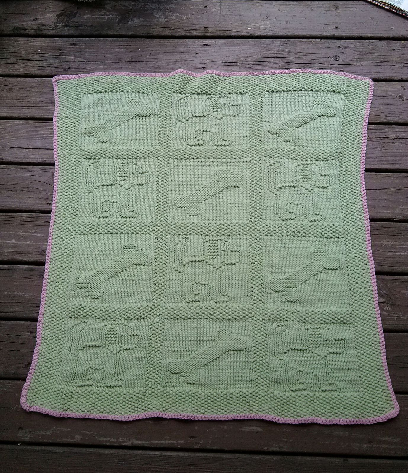 Ravelry: Momika21\'s Puppy Dog Baby Blanket | Products I Love | Pinterest