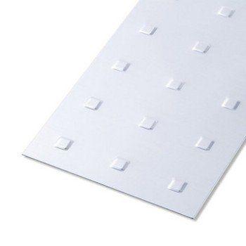 Tôle Emboutie Aluminium Anodisé L100 X L60 Cm X Ep07 Mm