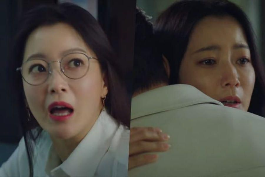 """Watch: Kim Hee Sun Shows Both Her Fiery And Sympathetic Side In Teaser For Upcoming Sci-Fi Drama """"Alice"""""""