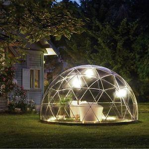 Garden Dome Canopy + Cover Igloo Patio Shelter Outdoor Gazebo Greenhouse Hot Tub & Garden Dome Canopy + Cover Igloo Patio Shelter Outdoor Gazebo ...