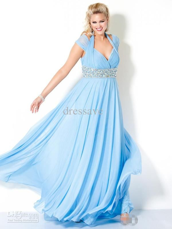 Light Colored Prom Dresses Plus Size
