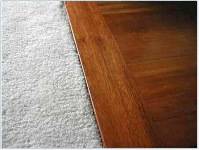 Carpet To Wood Floor Transition Trim Flooring Rustic Flooring