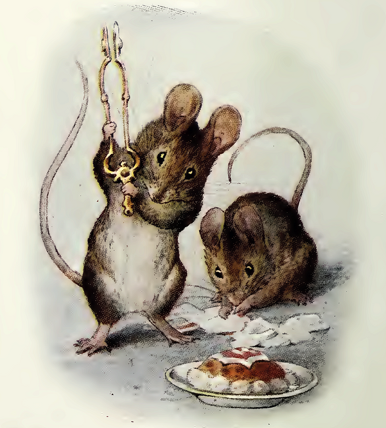 Картинки мышка и мышонок