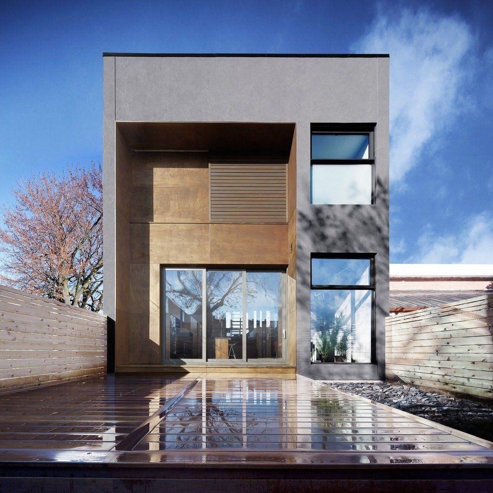 E3 House by Natalie Dionne Architecture > #exterior #architecture #design #modern #clean #minimalist