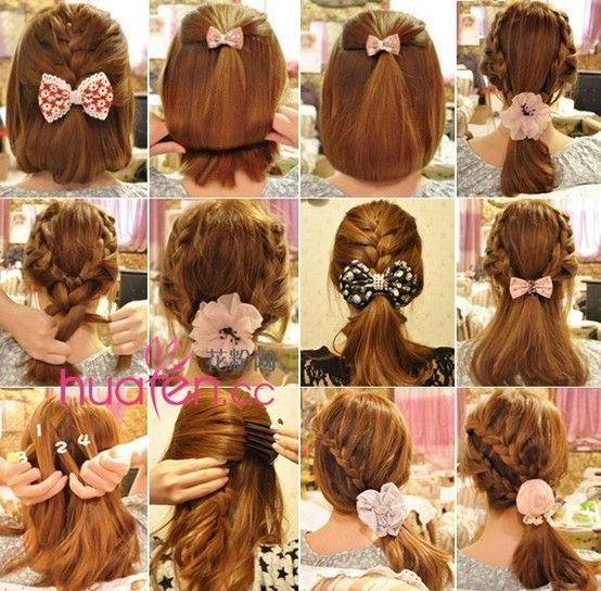 Six Cute Hairstyles