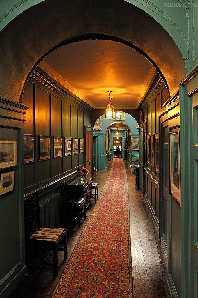 Corridor Interior Furnishings Around Walmer Castle Deal Kent