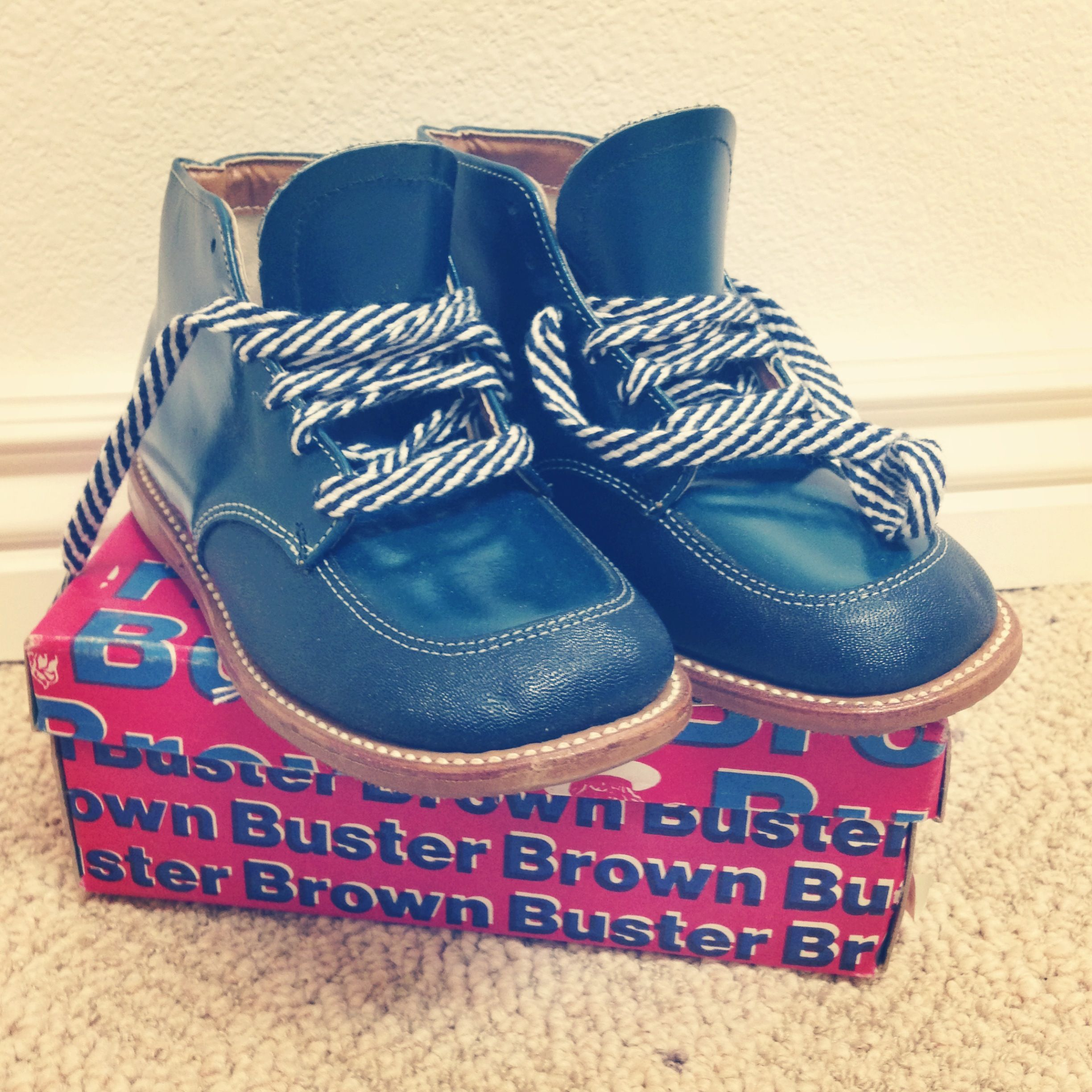 ec51fdabc8c5b Vintage Buster Brown Baby Shoes,,,my son wore these | oldies | Shoes ...