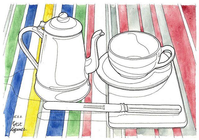 Petit déjeuner, via Flickr.