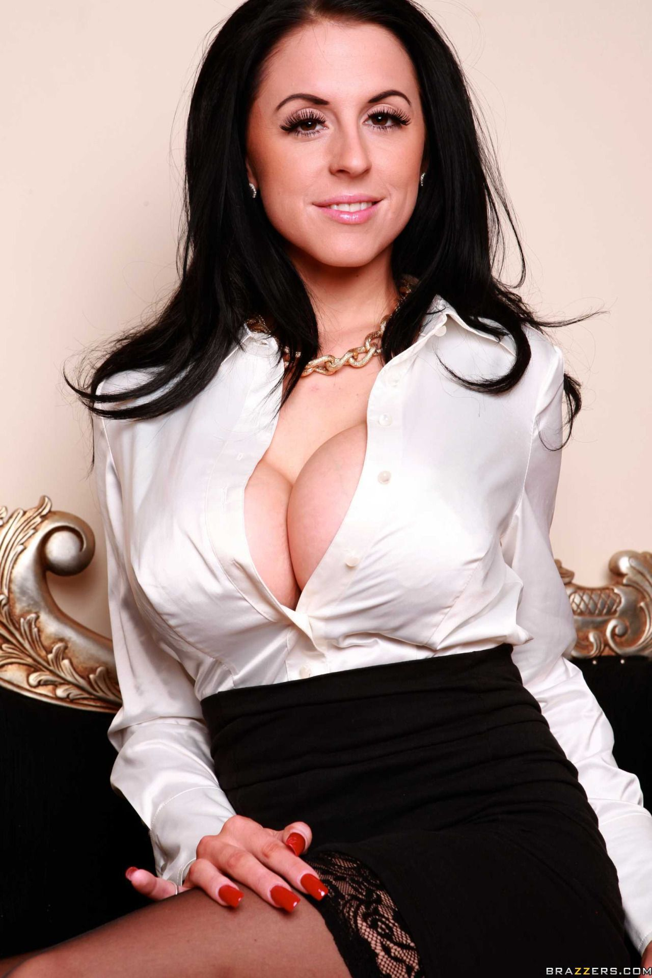 big boobs in blouse porn