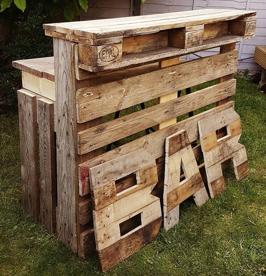 easy and unique diy pallet ideas and projects diy paletten ideen pinterest m bel palette. Black Bedroom Furniture Sets. Home Design Ideas