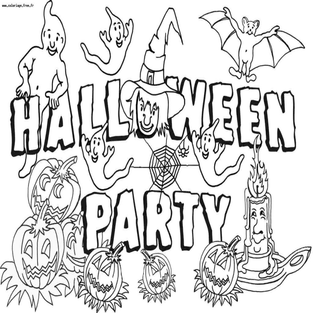 30 Coloriage D'halloween à Imprimer Gratuit Beau (With images)   Halloween, Halloween and more ...