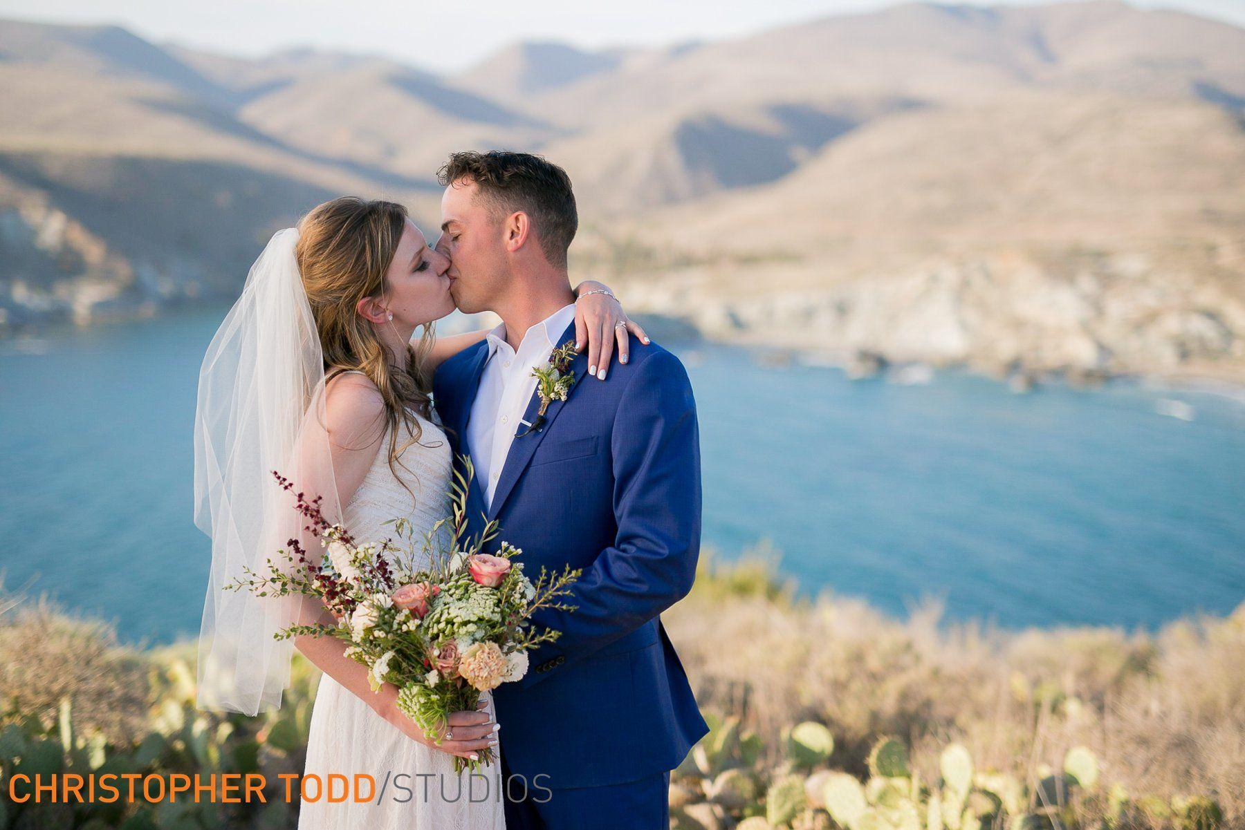 Catalina Island Elopement Island weddings, Wedding