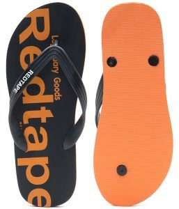 57b8bc1f5 Red Tape Mens Flip-Flops and House Slippers Minimum 60% Off For Flat Rs.199  At Amazon