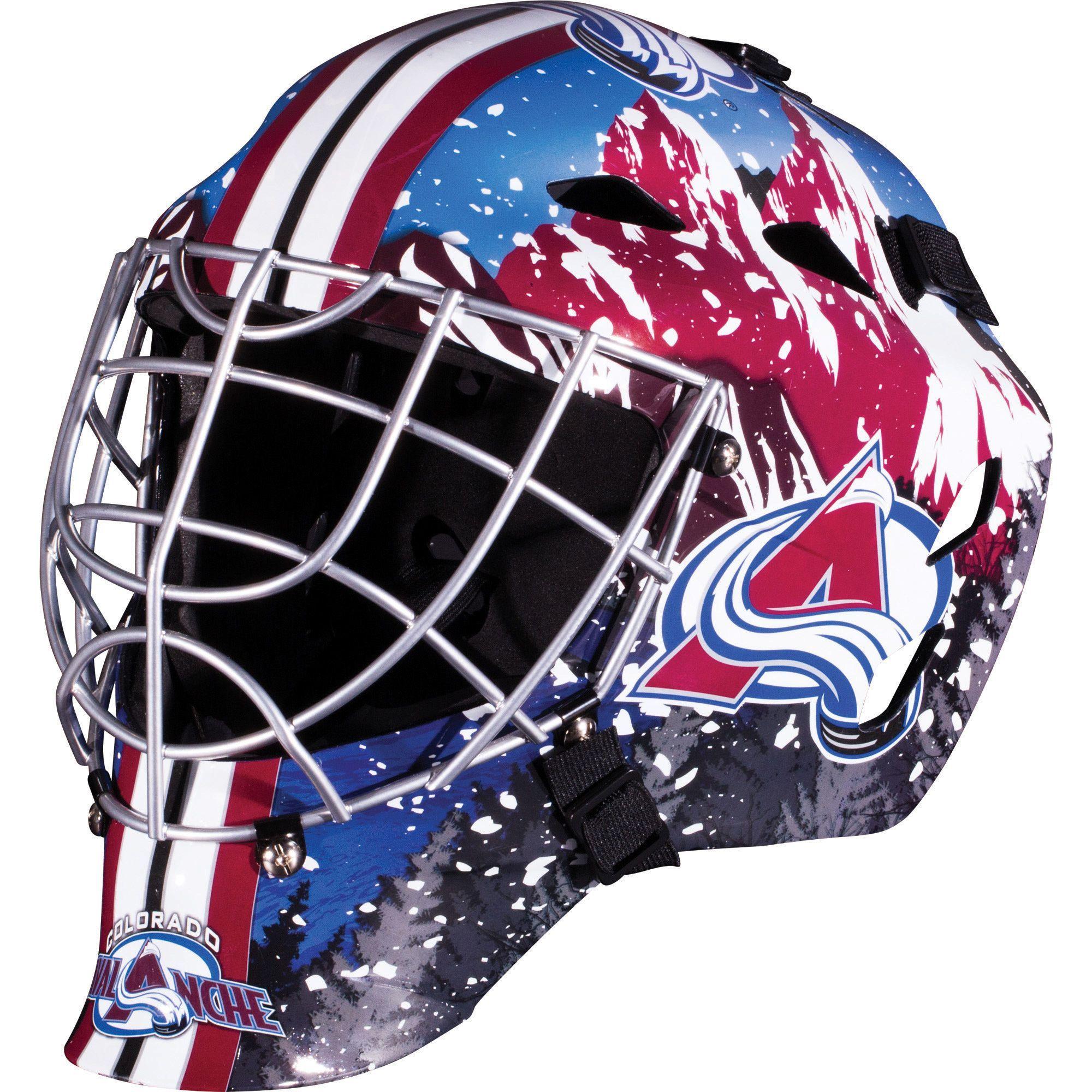 Franklin Sports Nhl Team Goalie Mask One Size Fits Most Franklin Sports Goalie Mask Street Hockey