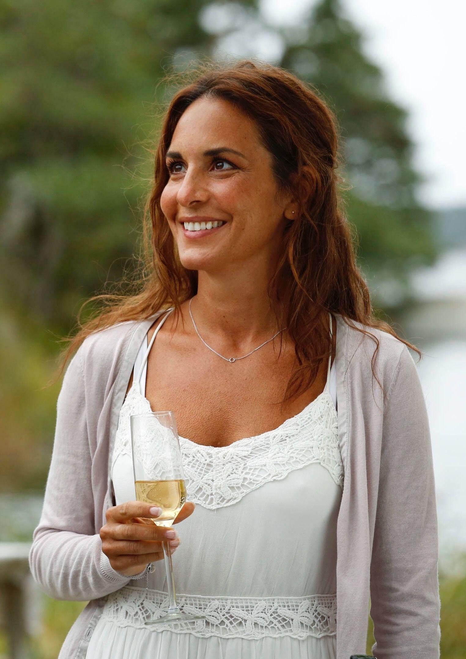 Alexandra Rapaport She is married to joakim eliasson. The
