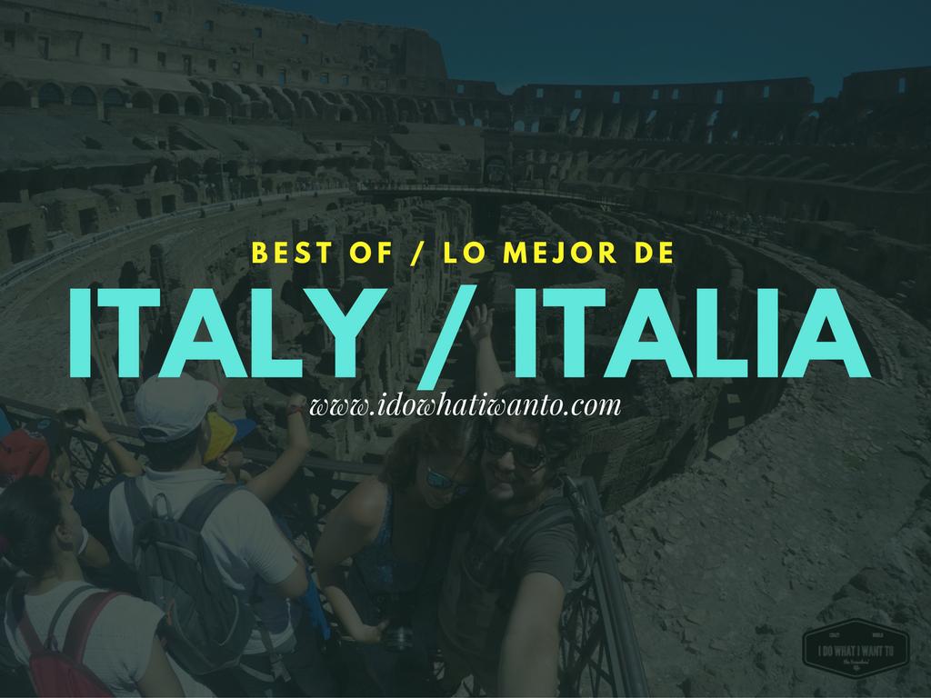 Best pins of Italy Los mejores pines de Italia