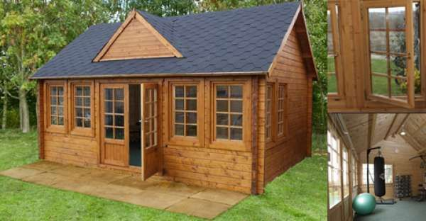 tiny houses are making big headlines 3600 208 sg ft nordic spruce http log cabin kitscabin - Tiny Log Cabin Kits