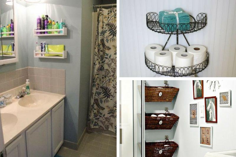 8 best diy small bathroom storage ideas that will blow you