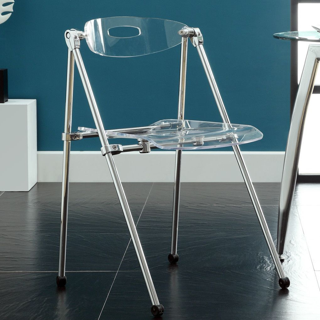 Clear Telescoping Chair   Overstock™ Shopping   Great Deals On Modway  Dining Chairs