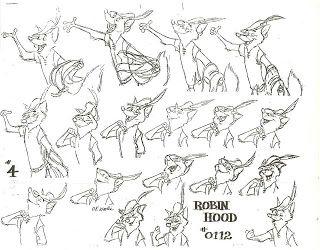 Disney Robin Hood Drawings   Robin hood disney, Disney