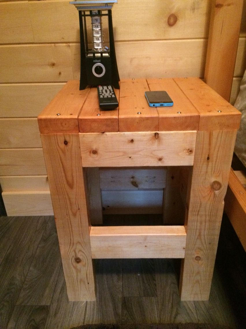 Wood End Tables Diy Night Stands
