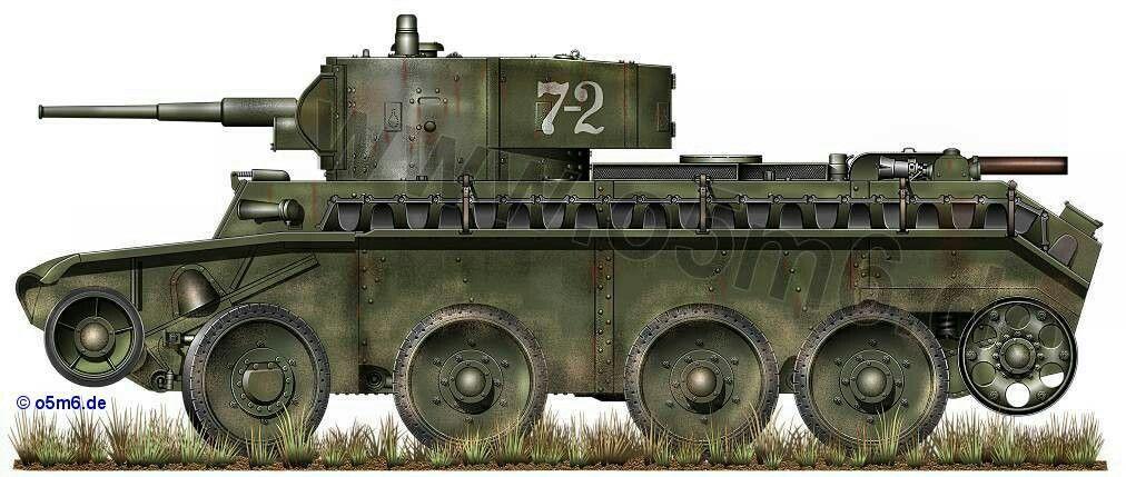 BT 7 tank - Red Army WW2, pin by Paolo Marzioli
