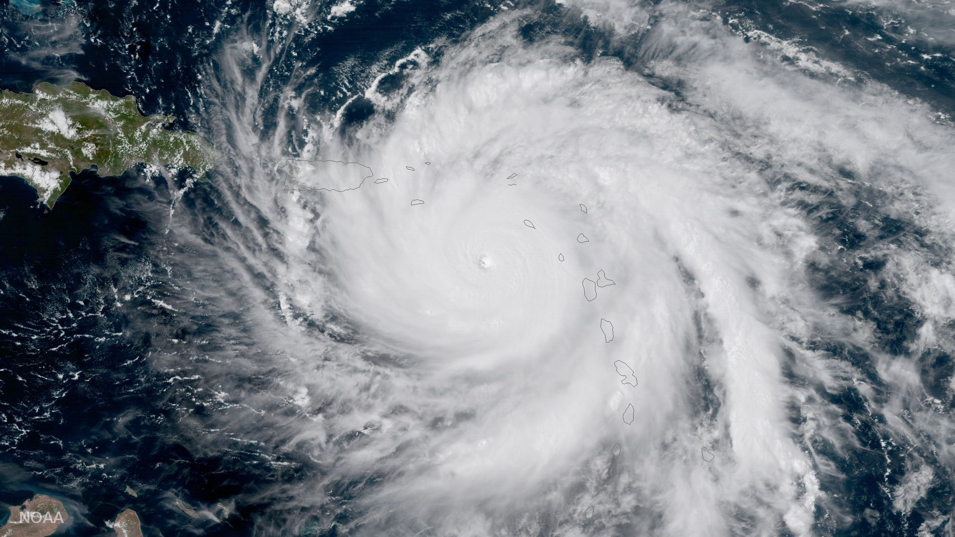 Hurricane Maria Targets St Croix And Puerto Rico After Devastating Dominica Puerto Rico Hurricane Dominica