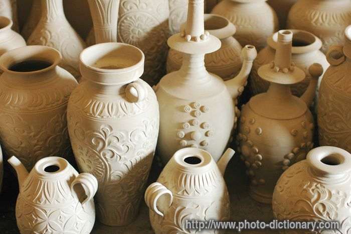 Pottery Jugs Photo Picture Definition At Photo Dictionary Pottery Jugs Pottery Photo Dictionary