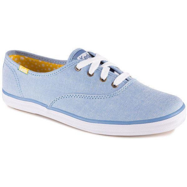 2c0f753cf4a Keds Women s Champion Chambray Shoe ( 36) ❤ liked on Polyvore featuring  shoes
