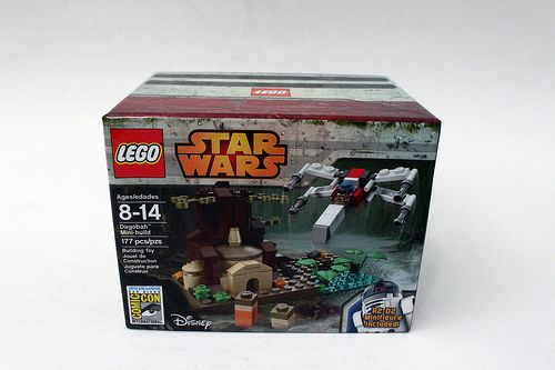 LEGO Star Wars SDCC 2015 Dagobah Mini-Build INSTRUCTIONS | Legos ...