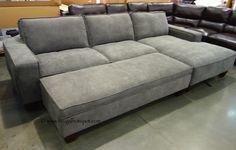 Costco Chaise Sofa With Storage Ottoman 849 99 Chaise Sofa