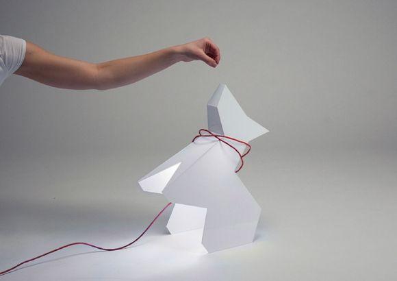 Trololo Dog Lamp by Eglė Stonkutė