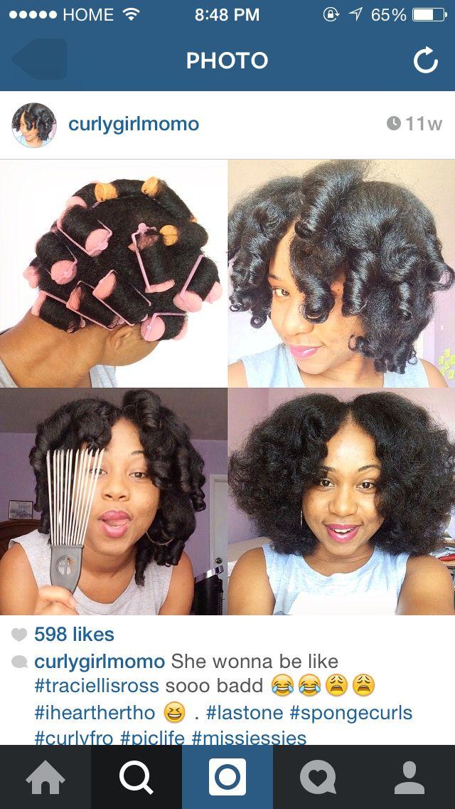 Foam Roller Set Hairstyles Hair Natural Hair Styles Hair Styles