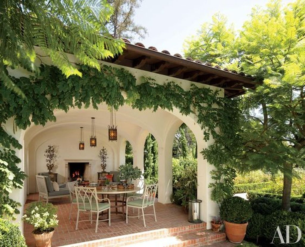 Stunning Mission Revival And Spanish Colonial Revival Architecture Ideas 22 Spanish Style Homes Patio House Exterior