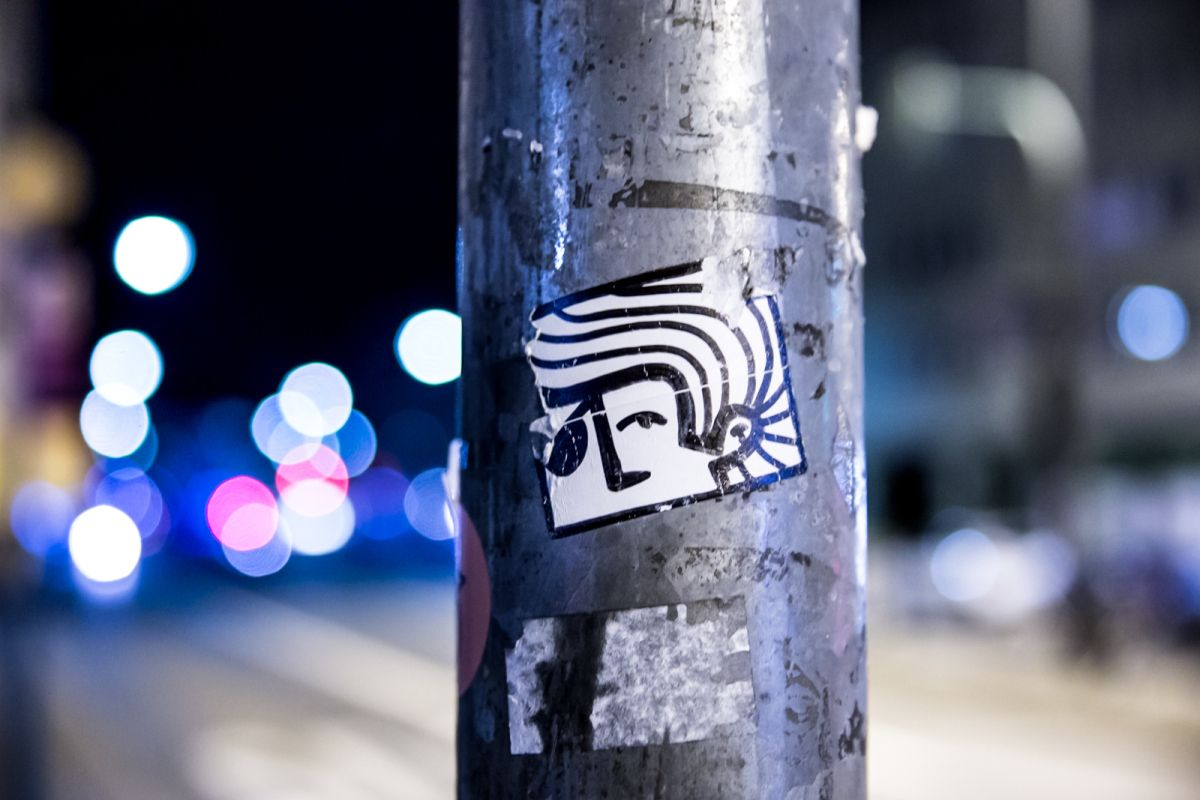 street art @ night