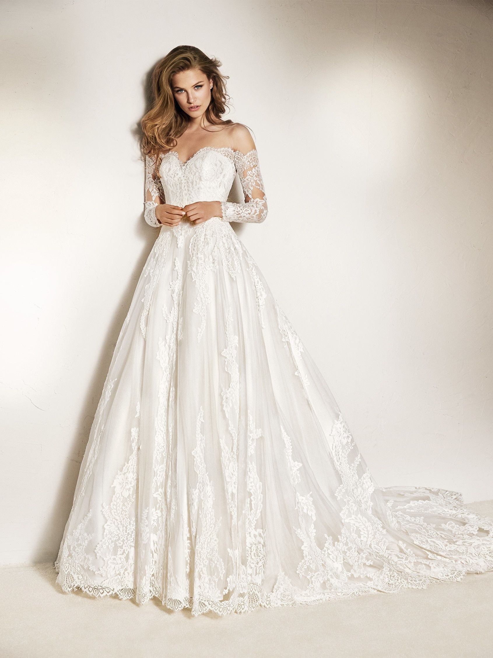 Robe mariee manche tulle
