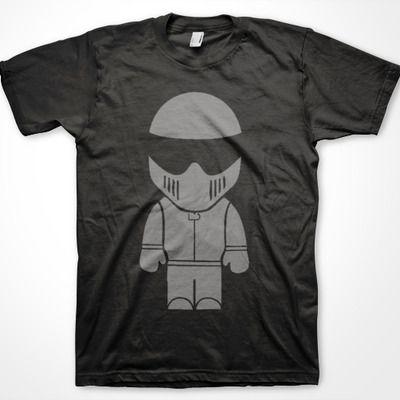 The stig - black t-shirt