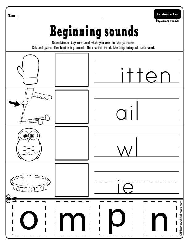 Pin On Free Kindergarten Worksheets
