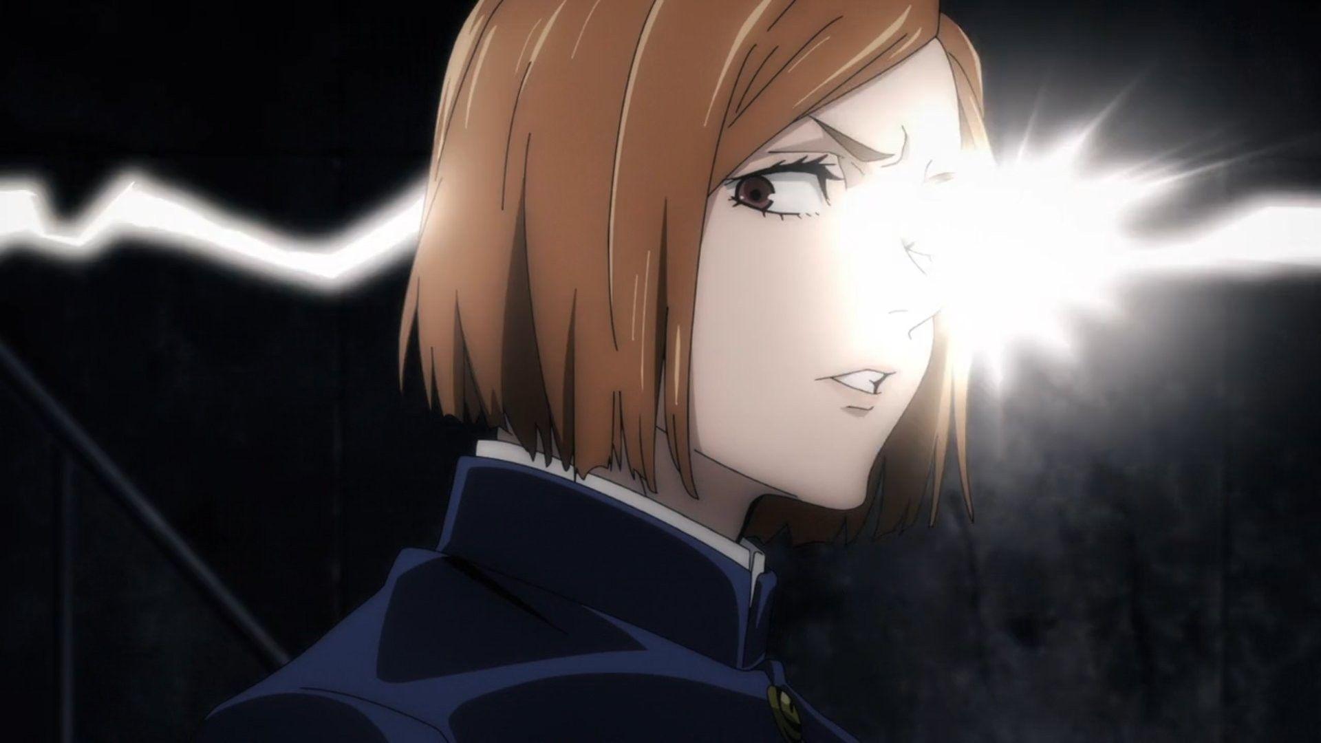 Kugisaki Nobara Triggred Jujutsu Anime Eyes Reaction Pictures