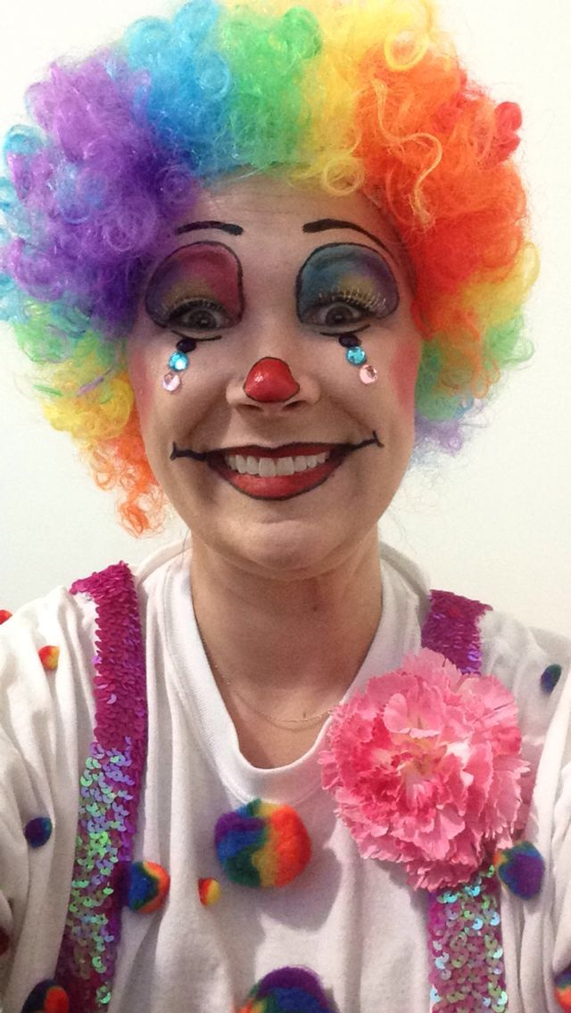 Cute clown makeup | my S T Y L E | Pinterest | Clown ...