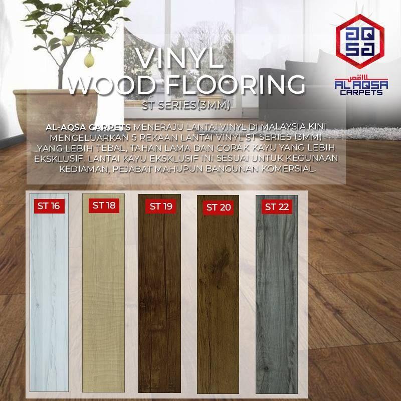 Premium Exclusive Vinyl 3mm Pvc Flooring Wood Vinyl Flooring