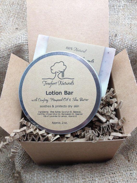 Soap & Lotion Bar Gift Set  All Natural soap by TreefortNaturals, $17.50 #teamdream