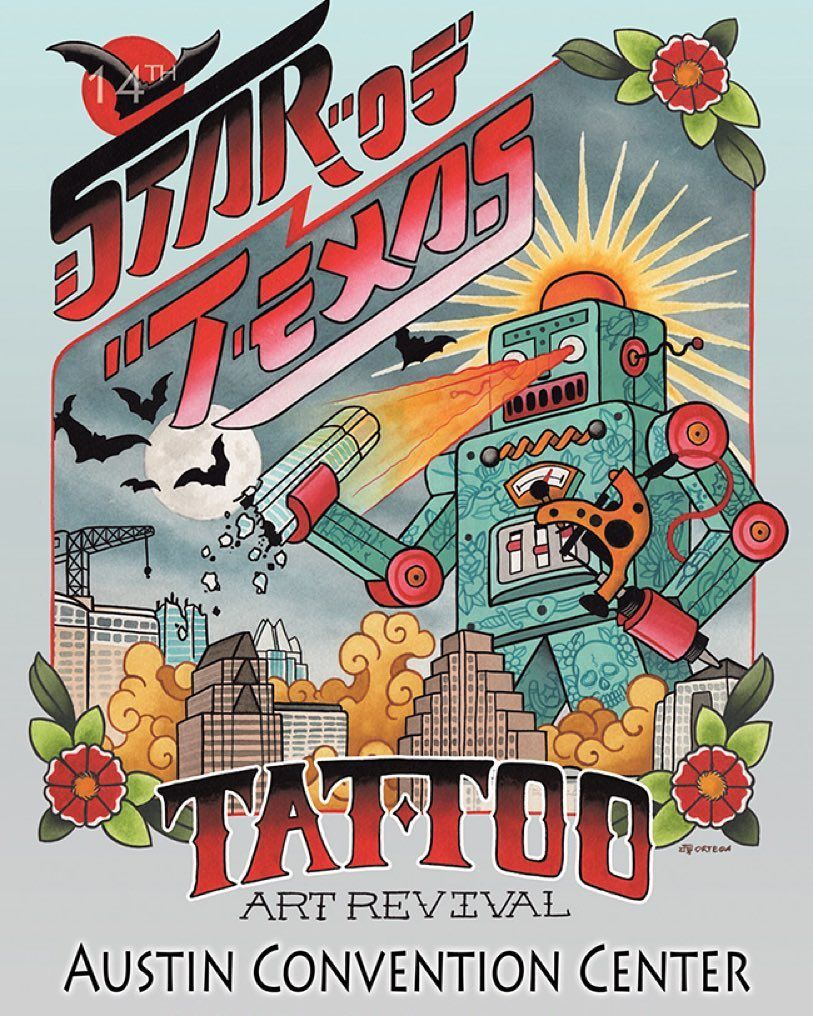 Ill be at this later today doing walk up tattoos